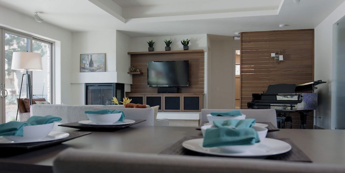 Solaire home interior for commercial video